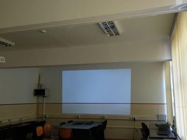 instalare si configurare videoproiector gimnaziu gen. nr.6