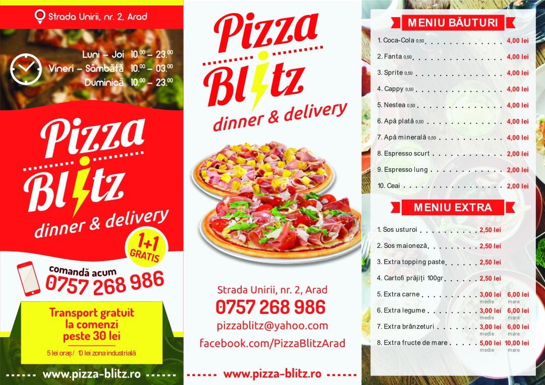 Pizza Blitz Arad